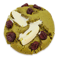 cookie Matcha cranberry