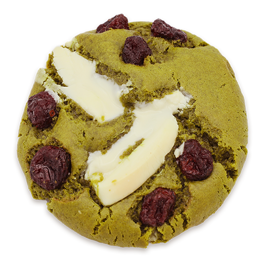 cookie Matcha cranberry